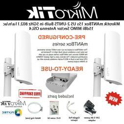 Mikrotik 15dBi Sector Antenna mANTBox 15s US 5GHz 802.11ac O