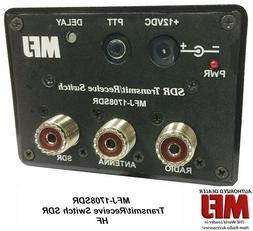 MFJ-1708SDR Antenna switch, HF, Transmit/Receive Switch For