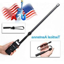 "18.5"" SMA-Female Tactical Antenna VHF/UHF For Baofeng UV-5R"
