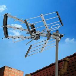 200 Mile Long Range Outdoor TV Antenna Amplified HDTV 1080P