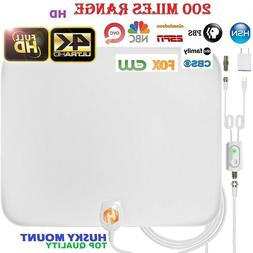 200 mile range antenna tv digital hd