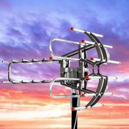 990Miles Long Range HD Digital TV Antenna 360°Rotation High
