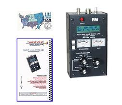 MFJ-259C Antenna Analyzer with Nifty! Quick Reference Guide