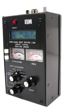 MFJ-259C HF/VHF/220 MHz Antenna Analyzer- 530 KHz - 230 MHz