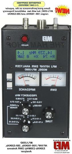MFJ-259D SWR Antenna Analyzer 100-160 KHz - 280-520KHz - 530
