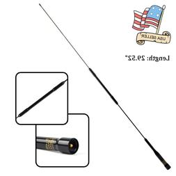 """29.52"""" Dual Band VHF/UHF 2 Meters/70cm Antenna PL259 For C"""