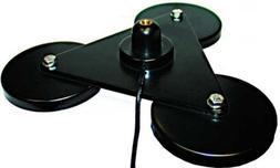 MFJ-336T Tri-mag mount asm, 3/8-24, 17ft coax