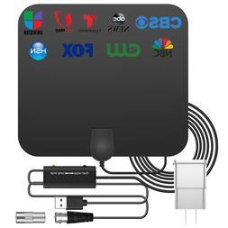 3600 Miles Digital TV Antenna Indoor HDTV Amplified Signal B