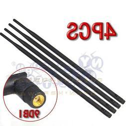 4 9dBi 2.4GHz 5GHz Dual Band RP-SMA WiFi Antennas Netgear R7