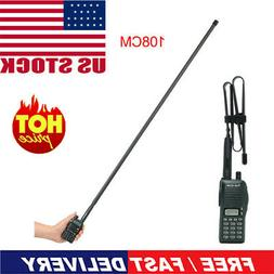 42'' ABBREE Tri-Band Tactical Antenna for Baofeng UV-5R III
