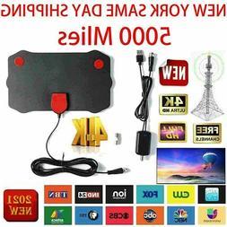 5000 Miles Range TV Antenna Digital HD Antena Indoor HDTV 10