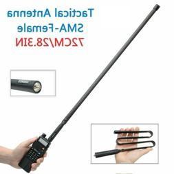 72cm Tactical Antenna SMA-Female Foldable For Baofeng UV-5R
