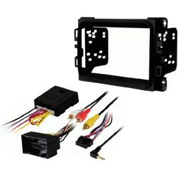 Metra 95-6518B Double DIN Stereo Installation Dash Kit for 2