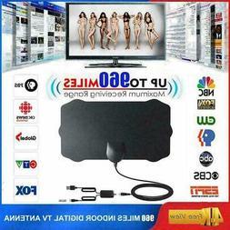 960 Mile Range Antenna Indoor with Amplifier TV Digital 1080