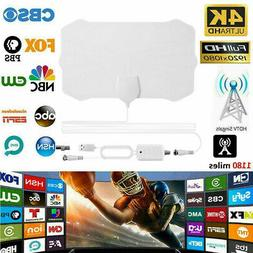 980 Mile Range Antenna no Amplifier TV Digital 1080P HD HDTV