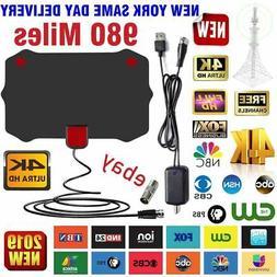 980 Mile Range Antenna TV Digital HD Skywire 4K Antena HDTV
