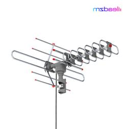 980 miles outdoor tv antenna motorized amplified