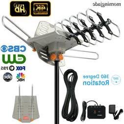 990 mile 1080P 4K Outdoor Amplified HDTV TV Antenna Digital