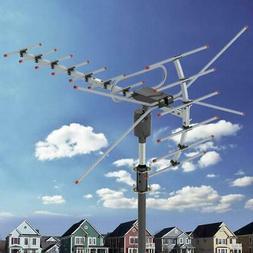 990 Miles HD 1080P Outdoor Amplified HDTV Digital TV Antenna