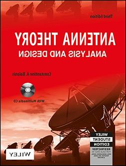 ANTENNA THEORY: ANALYSIS AND DESIGN, 3RD ED By Constantine A