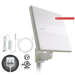 Antop Hdtv Antenna Outdoor, 360° Omni-Directional Amplified