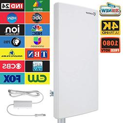 ANTOP Outdoor/Attic Amplified HD Digital TV Antenna 80 Miles