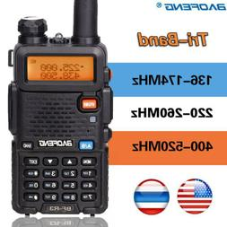 BaoFeng BF-R3 Tri-Band 136-174/220-260/400-520MHz 2x Antenna