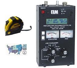 Bundle - 3 Items - Includes MFJ 269C HF/VHF/220MHz/UHF Anten