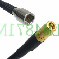 cable FME plug to SMB female for audio video Car Radio FM DA