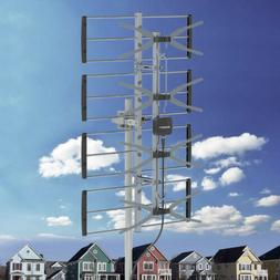 Leadzm Digital HDTV 1080P 150Miles Outdoor Amplified TV Ante