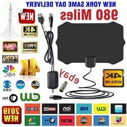 digital tv antenna 980 miles range signal