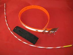 Garmin Astro DC 30 GPS dayglo reflective Tracking Collar / l