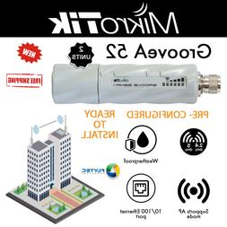 Mikrotik GrooveA 52 2pack Outdoor Wireless 2.4/5GHz with Omn