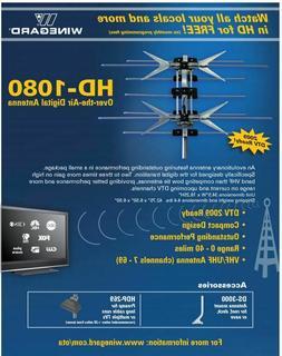 Winegard HD-1080 Antenna HDTV Outdoor 2-Bay Bowtie Antenna,