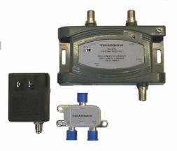 Winegard HDA-200 Distribution Amplifier Adjustable Gain 5-10