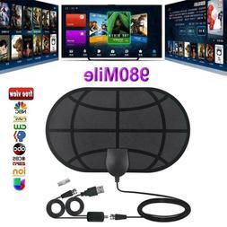 HOT!!! 980Miles 4K Range Antenna TV Digital HDTV 1080P HD Sk