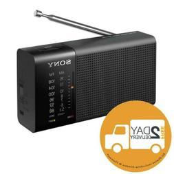 icf p36 compact portable am fm radio