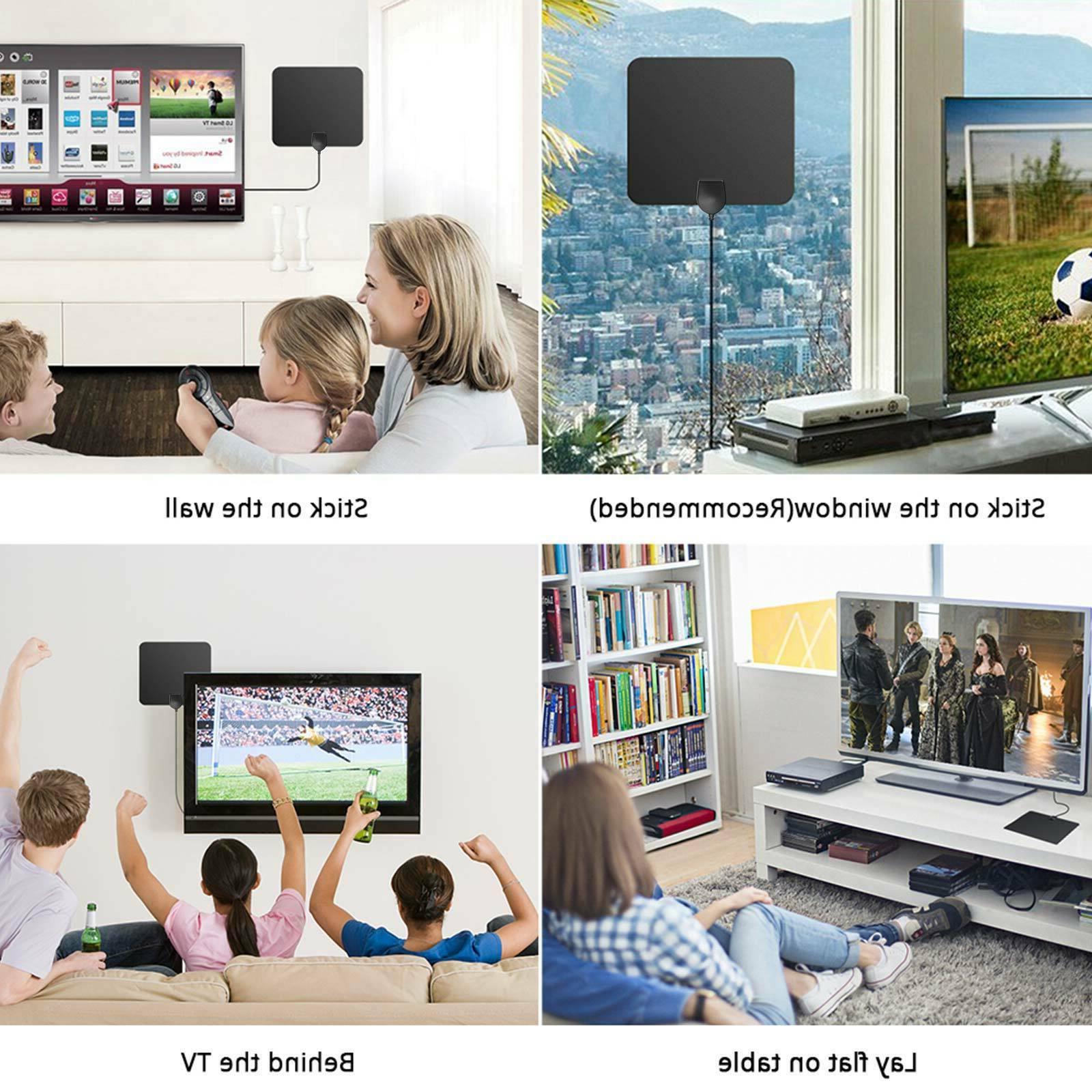 50 miles Indoor Outdoor HDTV Free HD 13tf 4K 1080P