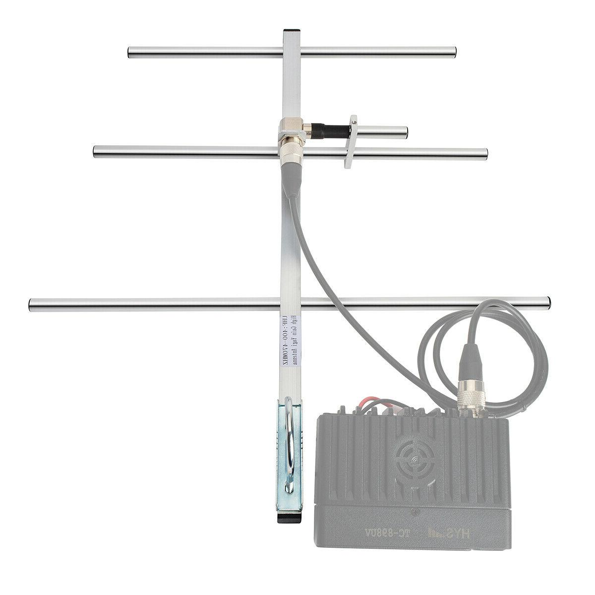 HYS 100W Antenna SL16 Female for Ham Mobile Transceiver Repeaters