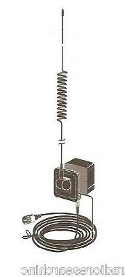 Tram 1198 Glass Mount Cb With Weather-band Mobile Antenna