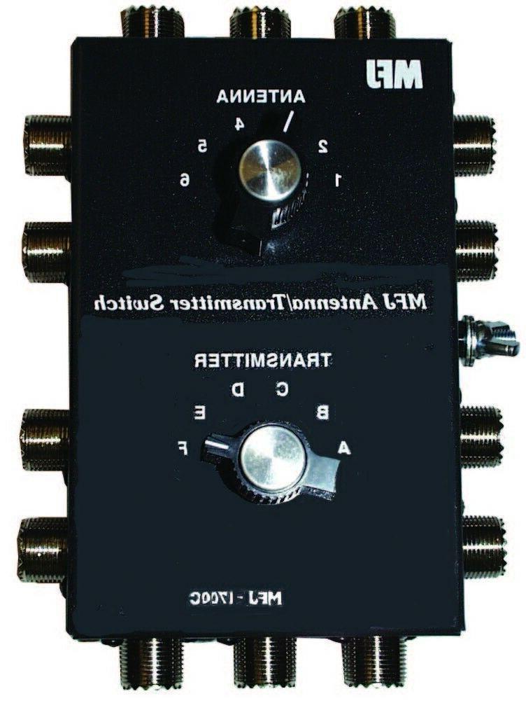 1700c six position antenna radio switch w