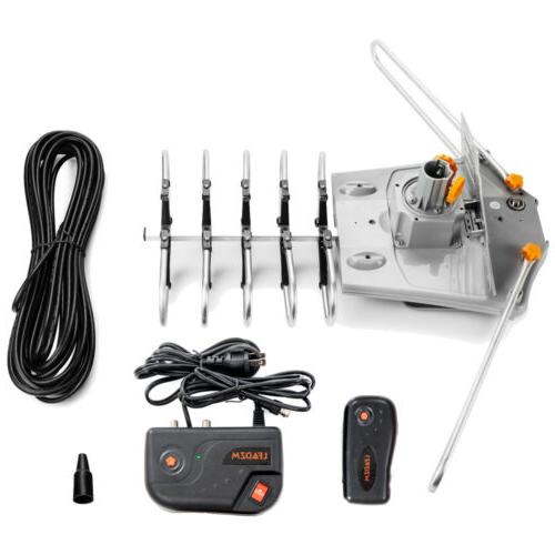 250mile Amplified HDTV Digital UHF VHF