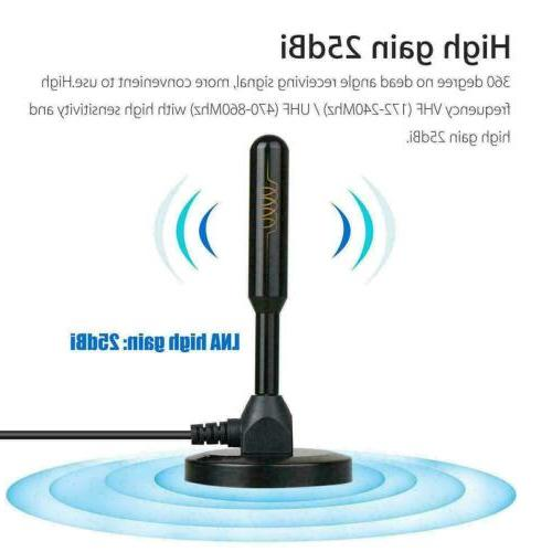 1080P HD Amplified Antenna with VHF/UHF