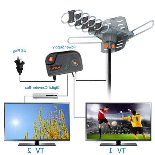 250mile 4K 1080P Amplified HDTV Digital