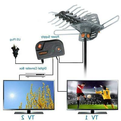 300mile 1080P UHF 360° Remote
