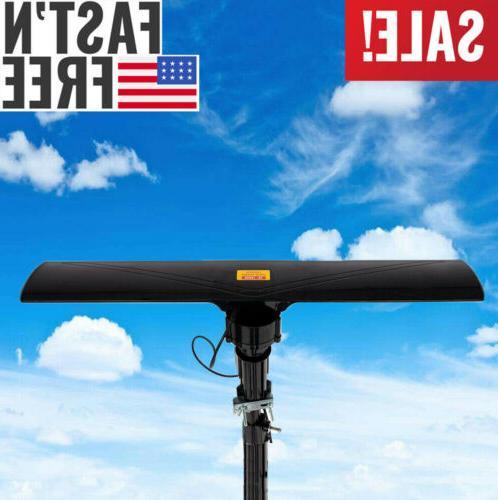 Long Range 990 Miles Outdoor Amplified HD TV Antenna High Ga