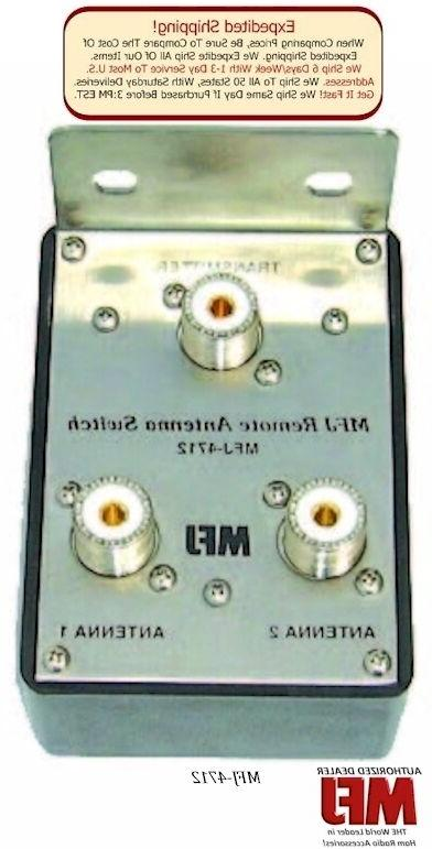 MFJ 4712 - 2-Position Remote Antenna Switch & MFJ-4712RC Rem
