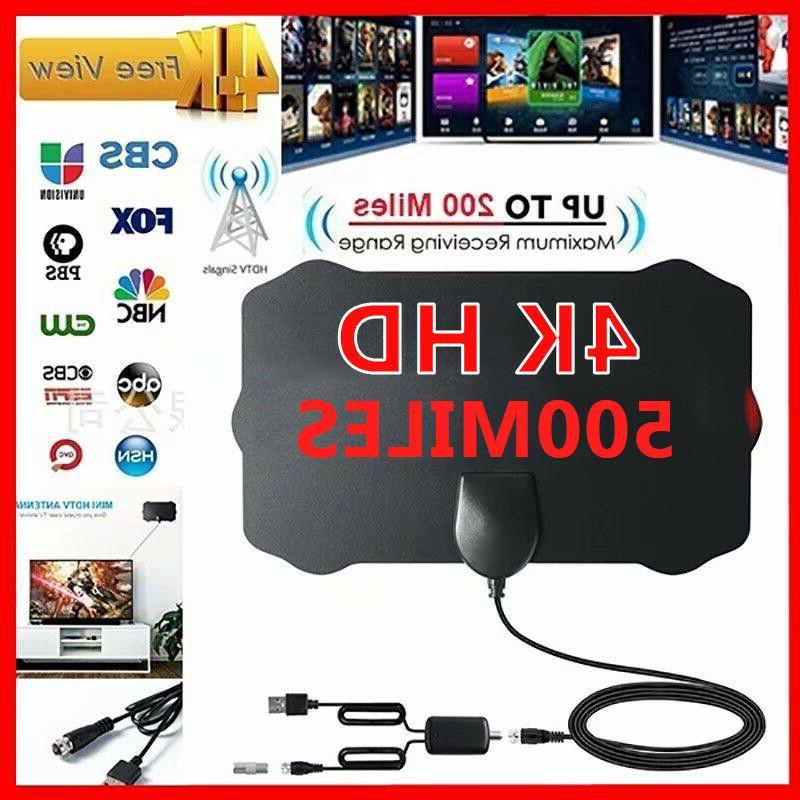 500 Mile Range TV Antennas for Digital TV