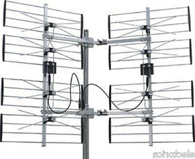 8 MULTI-DIRECTIONAL VHF UHF OUTDOOR OTA