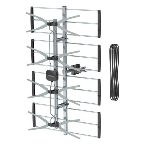 Leadzm 150Miles Outdoor TV Antenna
